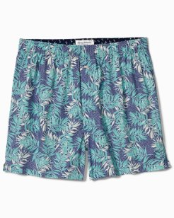 Big & Tall Leaves Woven Boxers