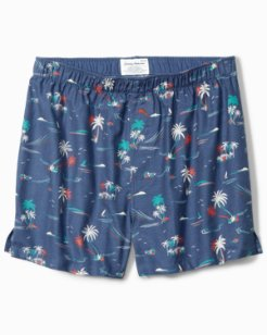 Palm Calm Flannel Boxers