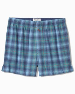 Fall Plaid Flannel Boxers