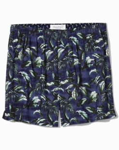 Big Leaves Woven Boxers