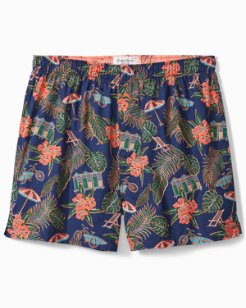 Big & Tall Scenic Woven Boxers