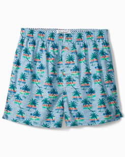 Palm Trees Woven Boxers