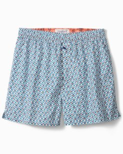 Big & Tall Ocean Tropic Woven Boxers