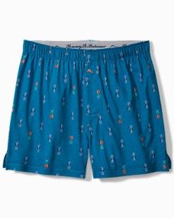 Pinapples Knit Boxers
