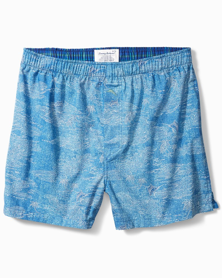 Main Image for Marlin Scene Woven Boxers
