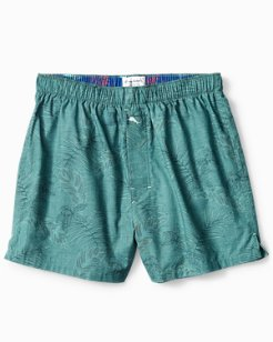 Tapestry Leaves Woven Boxers