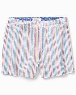 Crayon Stripe Seersucker Boxers