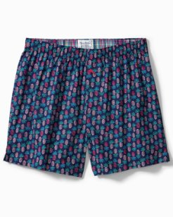 Big & Tall Pineapple Woven Boxers