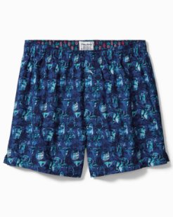 Big & Tall Tropical Liqueurs Boxers