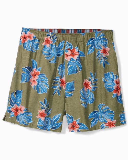 Heather Grey Tropical Boxers