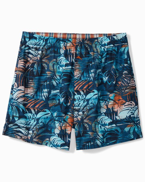 Navy Tropical Boxers