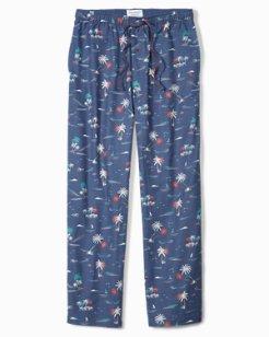 Island Palms Flannel Lounge Pants