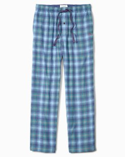 Fall Plaid Flannel Lounge Pants
