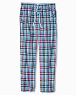 Winter Plaid Flannel Lounge Pants