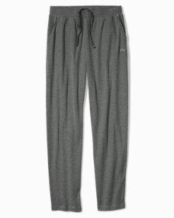 Heather Flat Knit Rib Pants