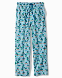 Palm Trees Woven Lounge Pants