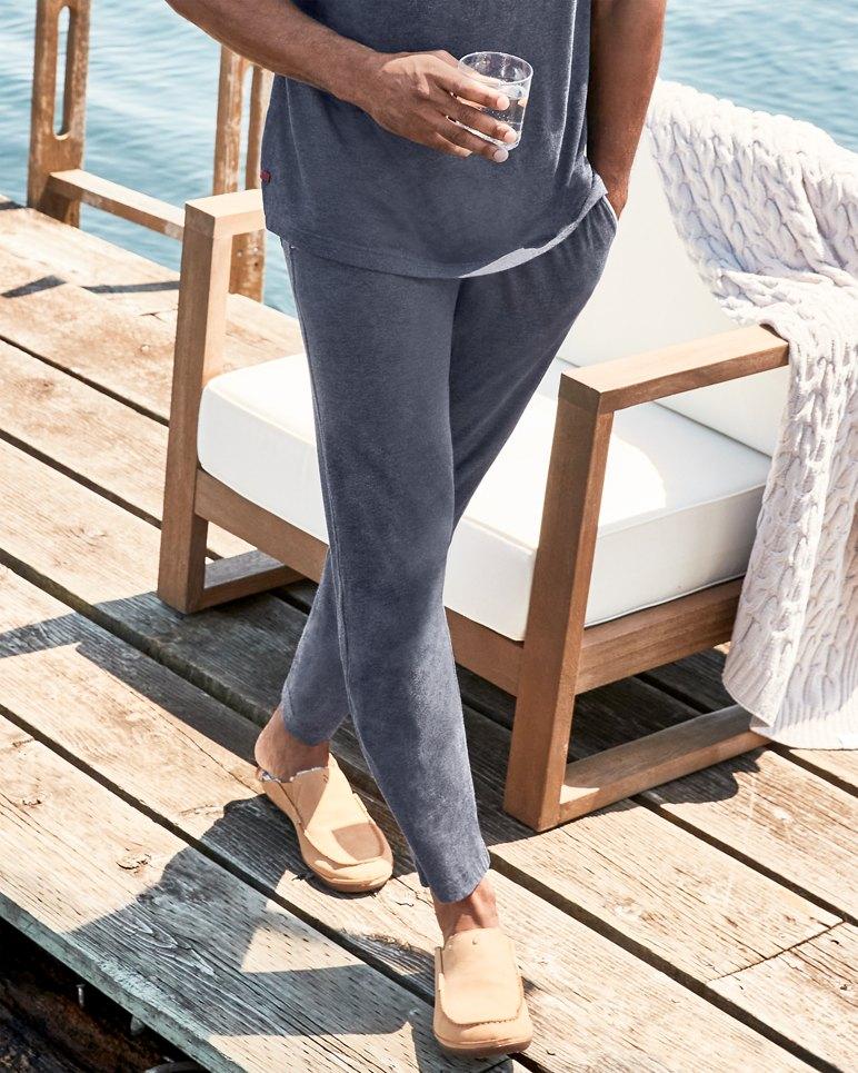 Main Image for Big & Tall Heathered Cotton-Modal Lounge Pants