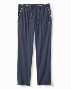 Big & Tall Heathered Cotton-Modal Lounge Pants