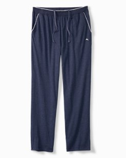 Heathered Cotton-Modal Lounge Pants
