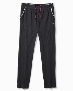 Heathered Cotton-Modal Lounge Pants