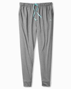 Moisture-Wicking Double-Knit Lounge Pants