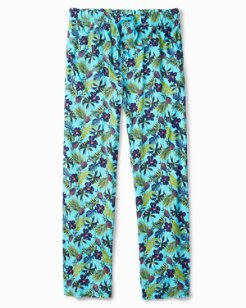 Floral Pineapple Knit Lounge Pants