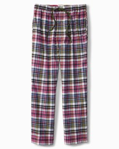 Holiday Plaid Flannel Lounge Pants
