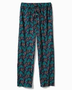 Hawaiiian Knit Jersey Pants