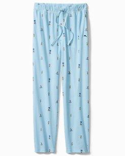 Aloha Knit Jersey Pants