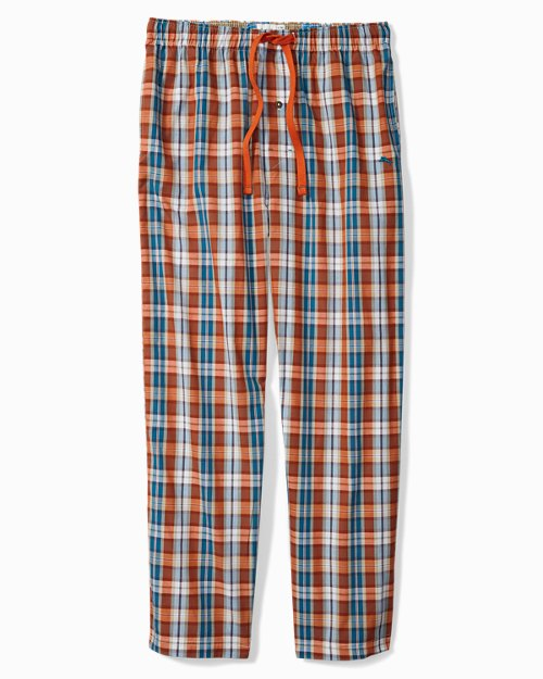 Fall Plaid Lounge Pants
