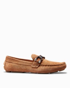 Relaxology® Galen Leather Slip-On Shoes