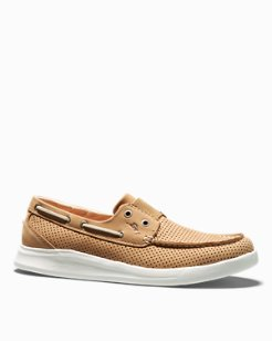 Relaxology® Aeonian Perforated Slip-On Shoes