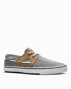 Stripe Breaker Lace-Up Shoes