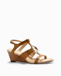 Ivy Sands Wedge Sandals