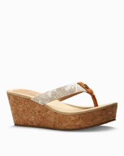 Saige Wedge Sandals