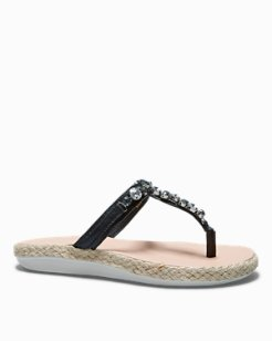 Relaxology® Ilysa Jeweled Sandals