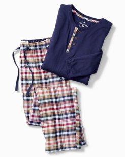 Winter Plaid Pajama Set