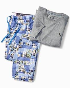 Patchwork Pajama Set