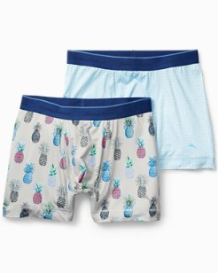 Pineapple And Geo Tile Boxers - 2-Pack