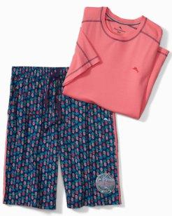 Pineapple Loungewear Set