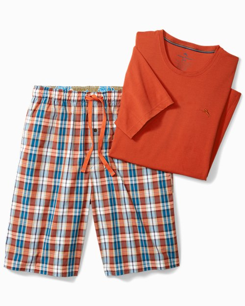 Fall Plaid Loungewear Set