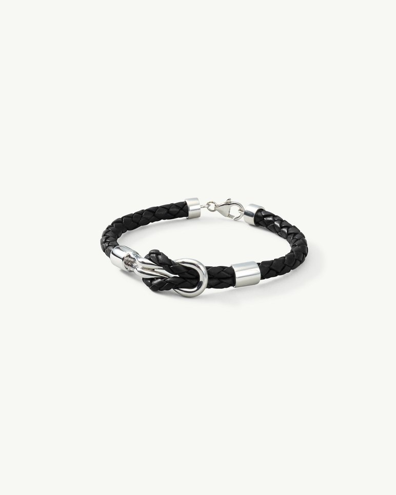 Main Image for Knotted Leather Bracelet