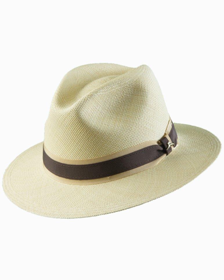 1940s Mens Hats | Fedora, Homburg, Pork Pie Hats Panama Hat $150.00 AT vintagedancer.com