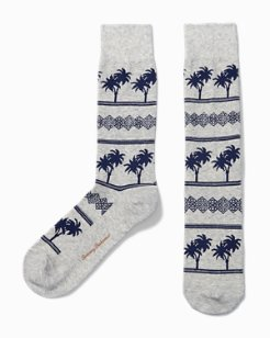 Palm Drive Socks