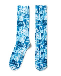 Hawaii Blues Socks