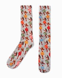 Happy Hou-La Dance Socks