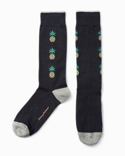 Nautical Pineapple Socks