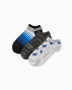 Lobster For Life Socks, 3-Pack