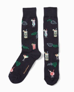 Drinks In Paradise Socks