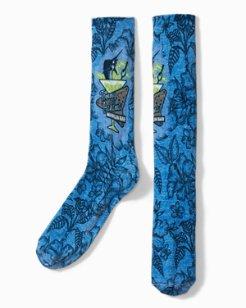 Marlin Bar Sublimated Print Socks